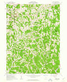 Download a high-resolution, GPS-compatible USGS topo map for Dalzell, OH (1963 edition)