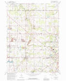 Download a high-resolution, GPS-compatible USGS topo map for Damascus, OH (1992 edition)