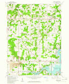 Download a high-resolution, GPS-compatible USGS topo map for Deerfield, OH (1961 edition)