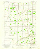 Download a high-resolution, GPS-compatible USGS topo map for Dunbridge, OH (1960 edition)