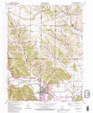 Download a high-resolution, GPS-compatible USGS topo map for Harrison, OH (1995 edition)
