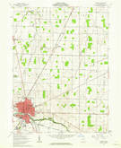Download a high-resolution, GPS-compatible USGS topo map for Kenton, OH (1963 edition)