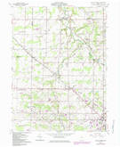 Download a high-resolution, GPS-compatible USGS topo map for Mallet Creek, OH (1985 edition)