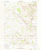 Download a high-resolution, GPS-compatible USGS topo map for Marseilles, OH (1972 edition)