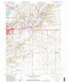 Download a high-resolution, GPS-compatible USGS topo map for New Paris, OH (1982 edition)