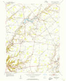 Download a high-resolution, GPS-compatible USGS topo map for Newtonsville, OH (1955 edition)