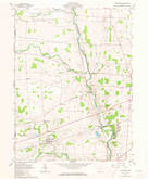 Download a high-resolution, GPS-compatible USGS topo map for Ostrander, OH (1973 edition)
