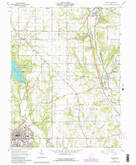 Download a high-resolution, GPS-compatible USGS topo map for Oxford, OH (1988 edition)