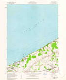 Download a high-resolution, GPS-compatible USGS topo map for Perry, OH (1961 edition)