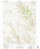 Download a high-resolution, GPS-compatible USGS topo map for Reily, OH (1995 edition)