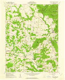 Download a high-resolution, GPS-compatible USGS topo map for Sinking Spring, OH (1962 edition)