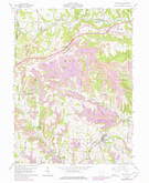 Download a high-resolution, GPS-compatible USGS topo map for Smithfield, OH (1978 edition)