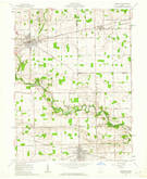 Download a high-resolution, GPS-compatible USGS topo map for Versailles, OH (1962 edition)