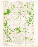 Download a high-resolution, GPS-compatible USGS topo map for West Elkton, OH (1962 edition)