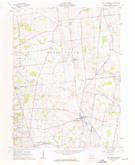 Download a high-resolution, GPS-compatible USGS topo map for West Mansfield, OH (1963 edition)