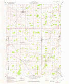 Download a high-resolution, GPS-compatible USGS topo map for Wharton, OH (1978 edition)