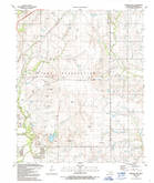 Download a high-resolution, GPS-compatible USGS topo map for Arbuckle Hill, OK (1991 edition)