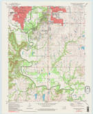 Download a high-resolution, GPS-compatible USGS topo map for Bartlesville South, OK (1983 edition)