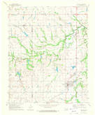 Download a high-resolution, GPS-compatible USGS topo map for Boynton, OK (1972 edition)