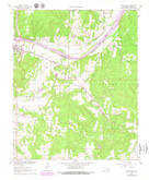 Download a high-resolution, GPS-compatible USGS topo map for Calvin East, OK (1979 edition)