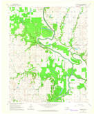 Download a high-resolution, GPS-compatible USGS topo map for Catoosa SE, OK (1964 edition)