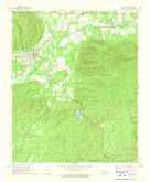 Download a high-resolution, GPS-compatible USGS topo map for Clayton, OK (1973 edition)
