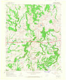 Download a high-resolution, GPS-compatible USGS topo map for Clearview, OK (1968 edition)