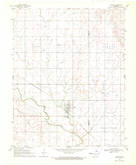 Download a high-resolution, GPS-compatible USGS topo map for Dacoma, OK (1971 edition)