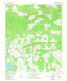 Download a high-resolution, GPS-compatible USGS topo map for Eagletown, OK (1981 edition)