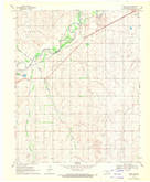 Download a high-resolution, GPS-compatible USGS topo map for Fargo SW, OK (1970 edition)