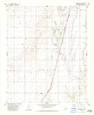 Download a high-resolution, GPS-compatible USGS topo map for Frederick SE, OK (1985 edition)
