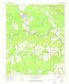 Download a high-resolution, GPS-compatible USGS topo map for Goodwater, OK (1976 edition)