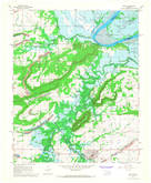 Download a high-resolution, GPS-compatible USGS topo map for Keota, OK (1968 edition)