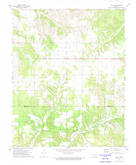 Download a high-resolution, GPS-compatible USGS topo map for Leach, OK (1974 edition)