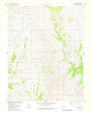 Download a high-resolution, GPS-compatible USGS topo map for Lucy Creek, OK (1978 edition)