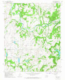 Download a high-resolution, GPS-compatible USGS topo map for Okemah SE, OK (1968 edition)