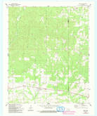 Download a high-resolution, GPS-compatible USGS topo map for Swink, OK (1993 edition)