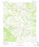 Download a high-resolution, GPS-compatible USGS topo map for Tupelo, OK (1991 edition)
