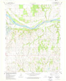 Download a high-resolution, GPS-compatible USGS topo map for Watchorn, OK (1978 edition)