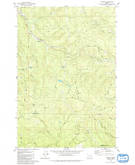 Download a high-resolution, GPS-compatible USGS topo map for Bacona, OR (1980 edition)