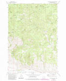 Download a high-resolution, GPS-compatible USGS topo map for Beaverdam Creek, OR (1985 edition)