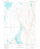 Download a high-resolution, GPS-compatible USGS topo map for Calderwood Reservoir, OR (1980 edition)