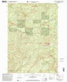 Download a high-resolution, GPS-compatible USGS topo map for Carpenter Mountain, OR (2001 edition)