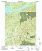 Download a high-resolution, GPS-compatible USGS topo map for Cascadia, OR (1998 edition)