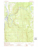 Download a high-resolution, GPS-compatible USGS topo map for Chiloquin, OR (1988 edition)