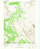 Download a high-resolution, GPS-compatible USGS topo map for Collins Rim, OR (1972 edition)