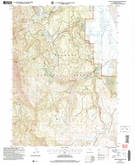 Download a high-resolution, GPS-compatible USGS topo map for Crane Mountain, OR (2007 edition)