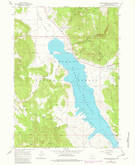 Download a high-resolution, GPS-compatible USGS topo map for Drews Reservoir, OR (1983 edition)