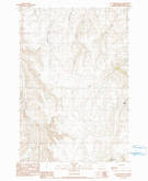 Download a high-resolution, GPS-compatible USGS topo map for Elk Mountain SE, OR (1990 edition)