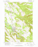 Download a high-resolution, GPS-compatible USGS topo map for Estacada, OR (1960 edition)